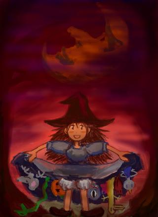Halloween_skirt